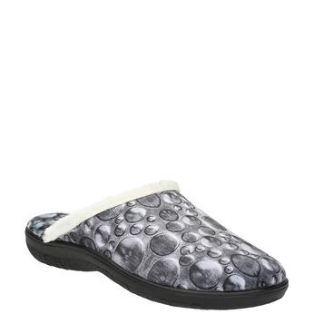 Dámská domácí obuv šedá bata, šedá, 579-2622 - 13