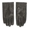 Hnědé kožené rukavice bata, hnědá, 904-4130 - 26