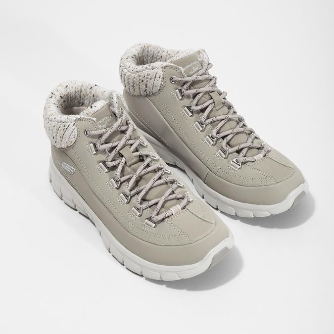 Dámská kotníčková obuv skechers, šedá, 501-2314 - 26