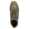 Kotníčkové tenisky z broušené kůže diesel, hnědá, 803-4629 - 17