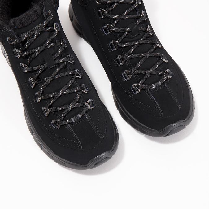 Dámská kotníčková obuv skechers, černá, 501-6314 - 18