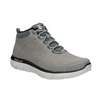 Kožená kotníčková obuv pánská skechers, černá, 806-6327 - 13