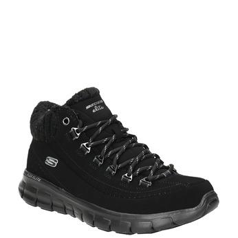 Dámská kotníčková obuv skechers, černá, 501-6314 - 13