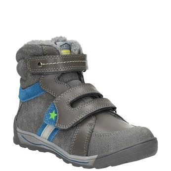 Dětská zimní obuv mini-b, šedá, 291-2627 - 13