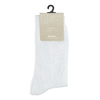 Bílé ponožky s příměsí bambusu bata, bílá, 919-1364 - 13