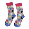 Ponožky s puntíky bata, šedá, 919-2659 - 26