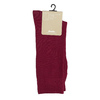 Pánské vínové ponožky bata, červená, 919-5302 - 13