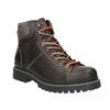 Kotníčková zimní obuv kožená bata, šedá, 896-2660 - 13