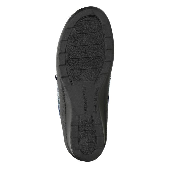 Dámská domácí obuv bata, modrá, 579-9623 - 19