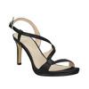 Dámské společenské sandály s kamínky bata, černá, 729-6611 - 13