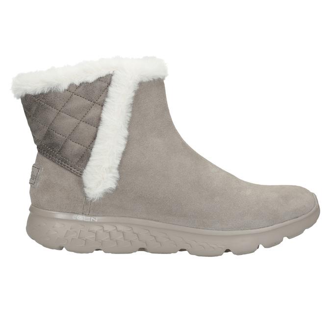 Dámská obuv z broušené kůže skechers, 503-3326 - 16