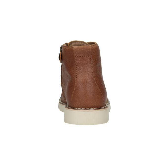 Dětská kožená kotníčková obuv primigi, hnědá, 314-3004 - 15