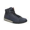Kožená kotníčková obuv ve sportovním stylu weinbrenner, modrá, 896-9706 - 13