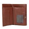 Dámská kožená peněženka bata, hnědá, 944-4189 - 15