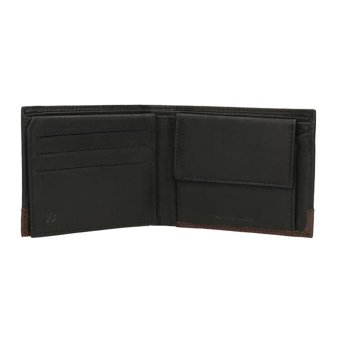 Pánská kožená peněženka bata, černá, 944-6149 - 15