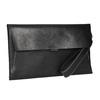 Černé kožené psaníčko bata, černá, 966-6285 - 13