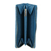 Modrá kožená peněženka bata, modrá, 946-9284 - 15