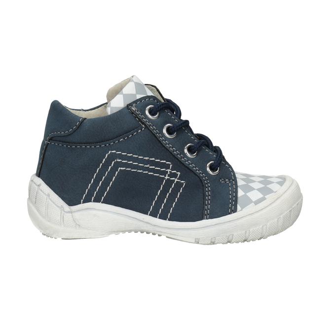 Dětská kotníčková obuv se vzorem bubblegummers, modrá, 111-9626 - 26