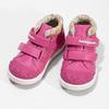 Růžová kotníčková obuv na suché zipy bubblegummers, 121-5618 - 16