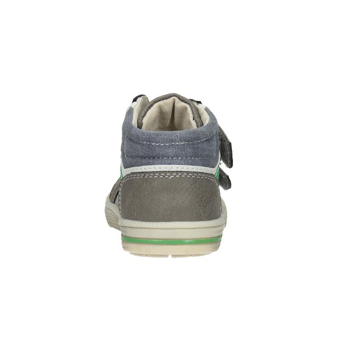 Kotníčková dětská obuv bubblegummers, šedá, 111-2614 - 16