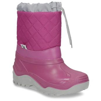 Dívčí růžové sněhule mini-b, 392-5201 - 13
