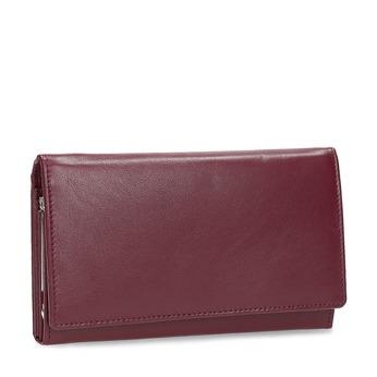 Kožená dámská peněženka bata, červená, 944-5205 - 13
