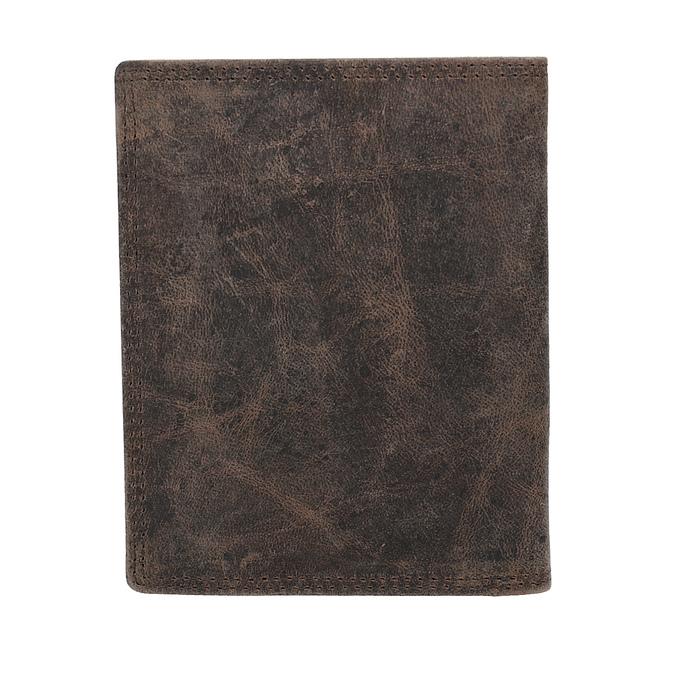 Hnědá kožená peněženka pánská bata, hnědá, 944-4208 - 16