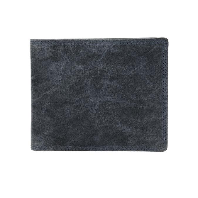 Pánská kožená peněženka modrá bata, 944-9207 - 26