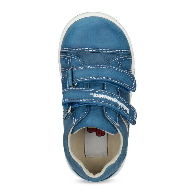Modré dětské ležérní tenisky bubblegummers, modrá, 111-9625 - 17