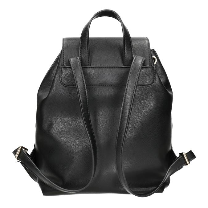 Černý batoh s poutkem bata, černá, 961-6858 - 16