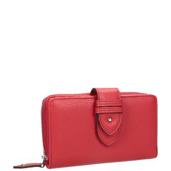 Červená dámská peněženka bata, červená, 941-5160 - 13