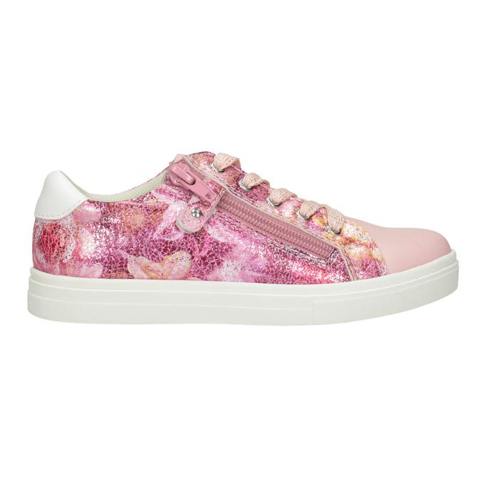 Dívčí růžové tenisky se zipem mini-b, 321-5219 - 26