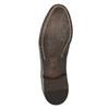 Celokožené Oxford polobotky bata, hnědá, 826-4826 - 19