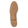 Dámské polobotky s perforací bata, šedá, 521-2609 - 18