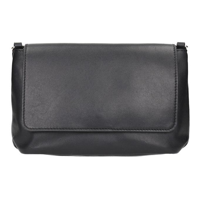 Kožená dámská Crossbody kabelka bata, černá, 964-6291 - 26