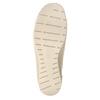 Kožené Slip-on na klínovém podpatku bata, 626-8646 - 17