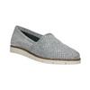 Stříbrné kožené Slip-on boty flexible, 536-1604 - 13
