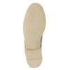 Kožené kotníčkové boty s kovovou aplikací bata, béžová, 596-2690 - 18