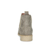 Kožené kotníčkové boty s kovovou aplikací bata, béžová, 596-2690 - 15