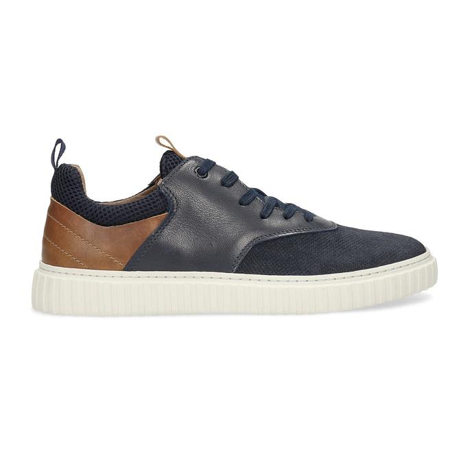 Ležérní kožené tenisky bata, 843-9637 - 19