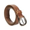 Hnědý kožený opasek dámský bata, hnědá, 954-3202 - 13
