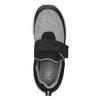 Dětské tenisky s elastickým páskem mini-b, černá, 319-6152 - 15