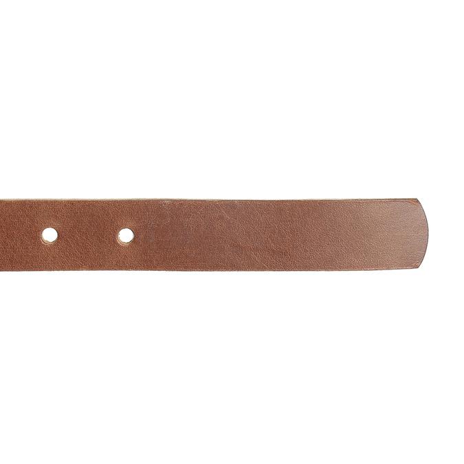 Hnědý kožený opasek dámský bata, hnědá, 954-3202 - 16