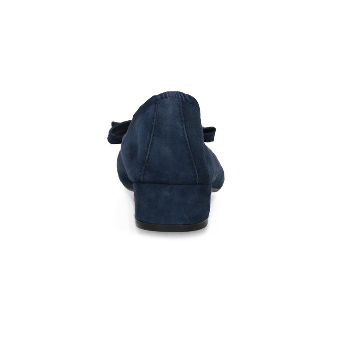 Baleríny z broušené kůže modré bata, modrá, 523-9420 - 15