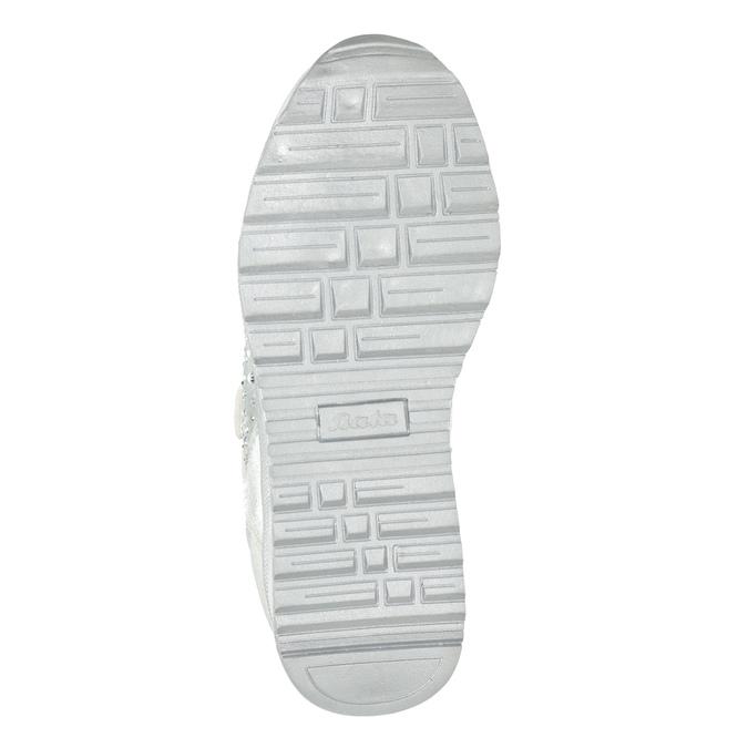 Stříbrné dětské tenisky s kamínky mini-b, 329-1348 - 17