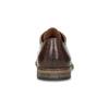 Pánské kožené polobotky se zdobením bata, hnědá, 826-4927 - 15