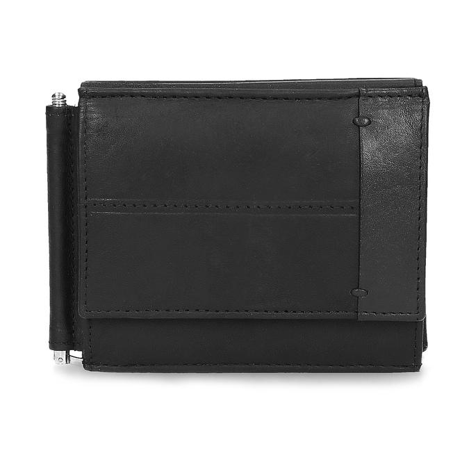 Pánská kožená peněženka bata, černá, 944-6209 - 26