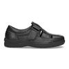 Pánské sandály z kůže pinosos, černá, 864-6626 - 19