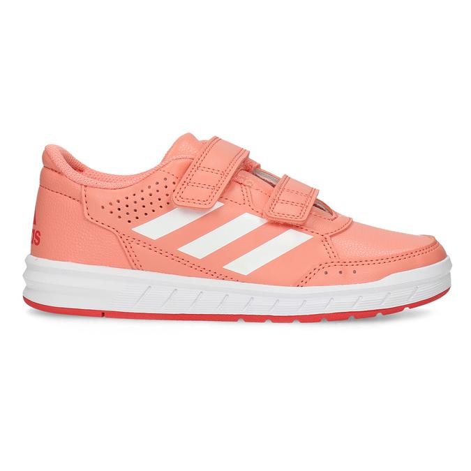 Dětské tenisky v lososové barvě adidas, růžová, 301-5151 - 19