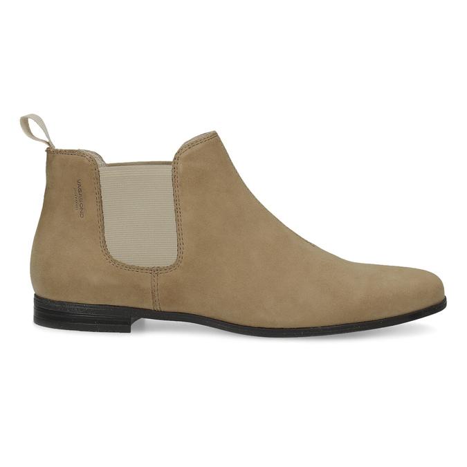 Kožené kotníčkové Chelsea Boots vagabond, hnědá, 513-4098 - 19